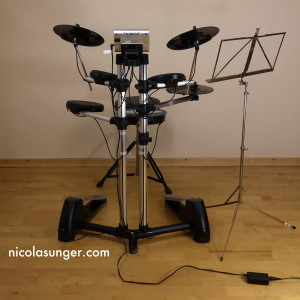 E-Drumset (front view)