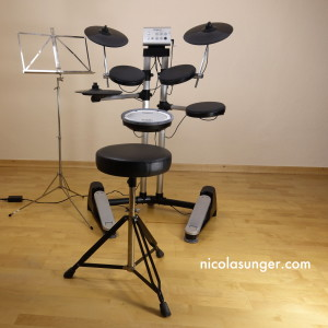 E-Drumset (back view)