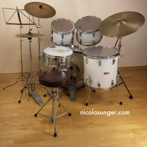 Standard Drum Set (Back)
