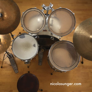 Standard Drum Set (Top)