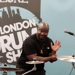 Chris Coleman @ London Drum Show 2016
