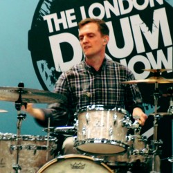 Jost Nickel @ London Drum Show 2016