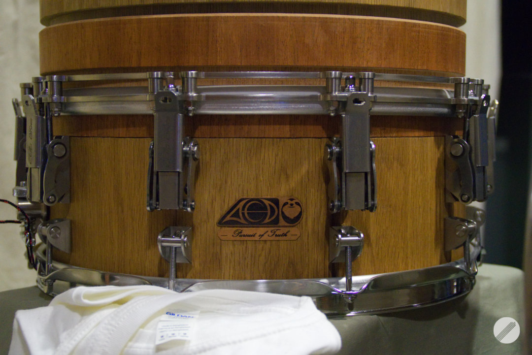 ACD with MANICdrum Lug One and Hoop One