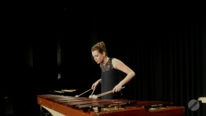 Marianna Bednarska playing Bach Variations by Matthias Schmitt