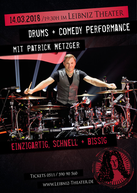 Drums & Comedy - Patrick Metzger 2018