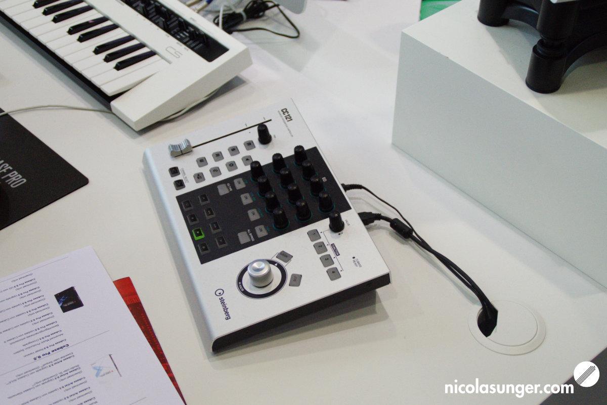 Steinberg DAW Controller CC121 @ Musikmesse Frankfurt