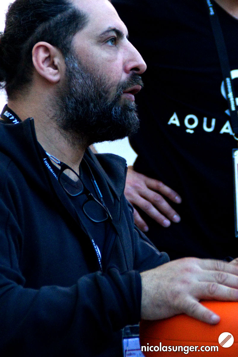 Deniz Gungor (Aquadrum) @ Musikmesse Frankfurt 2018