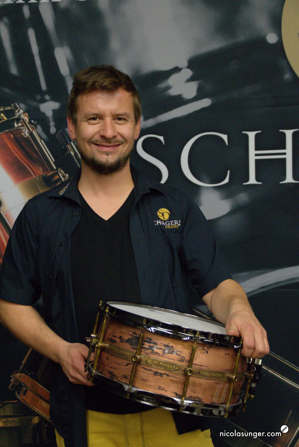 Markus Lechner - Schagerl Drums Oktober 2018