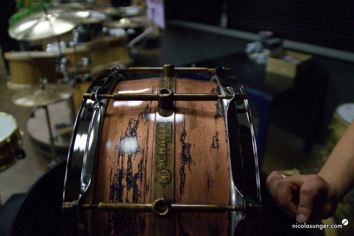 Schagerl Drums auf der CrashIt! Vol.3 2018