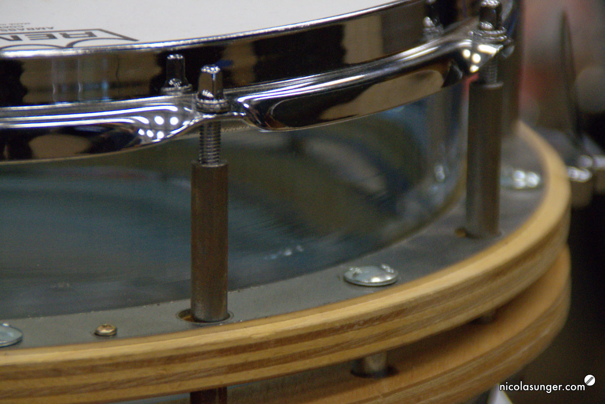 Glas Snare by TROYAN ZACHOW DRUMS