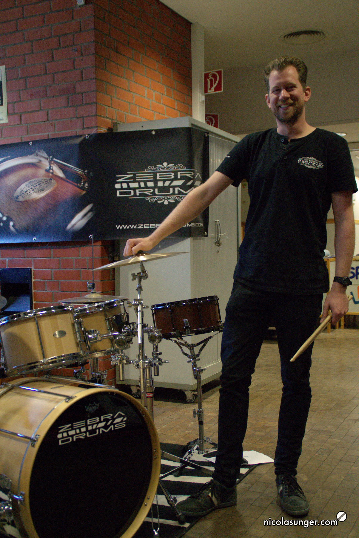 Sjoerd van der Beuken - Zebra Drums